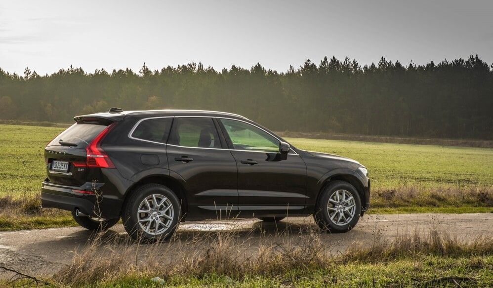 New Volvo XC60 rental